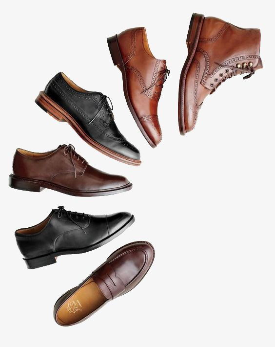 Business Mens Shoes, Business Clipart, Shoes Clipart, Brown.
