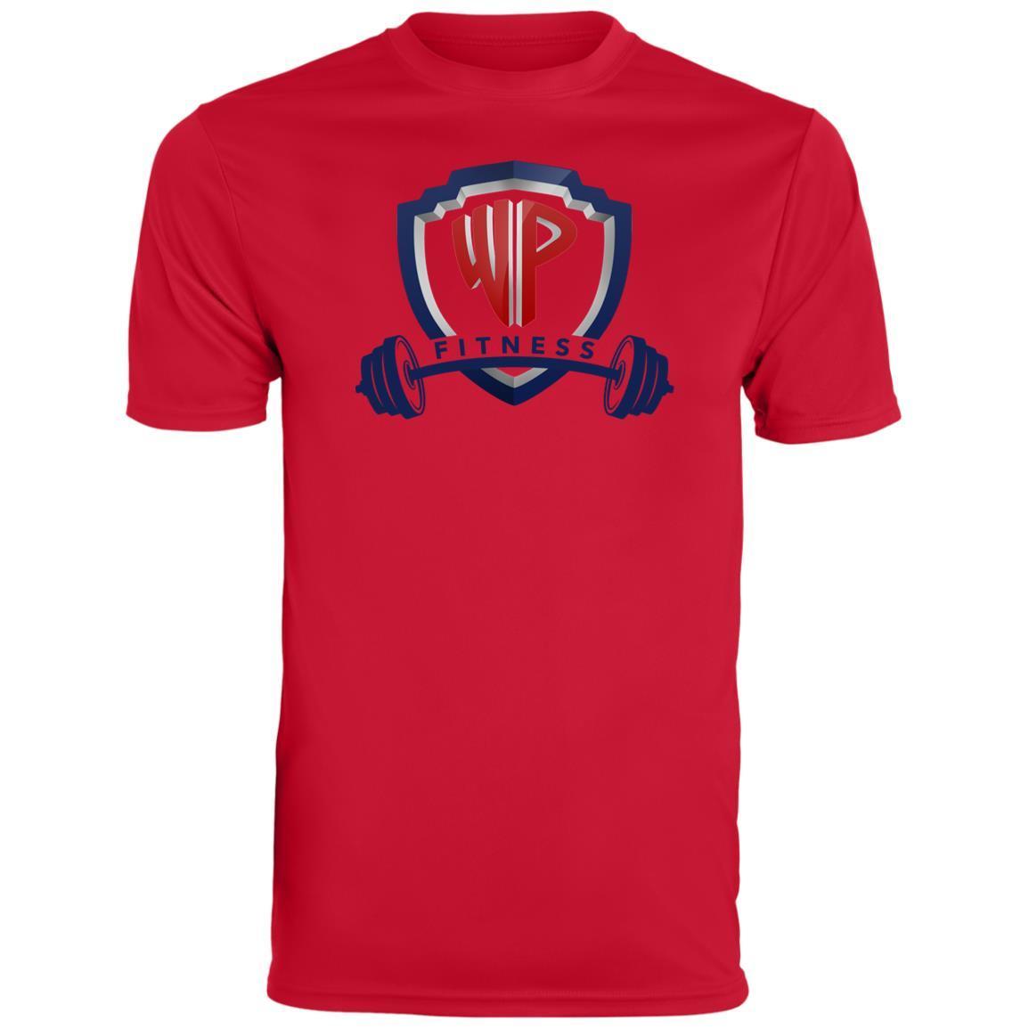 Men\'s Sport WP Shield Fitness Logo BarBell Style.