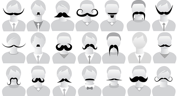 Movember : Men\'s health awareness month.