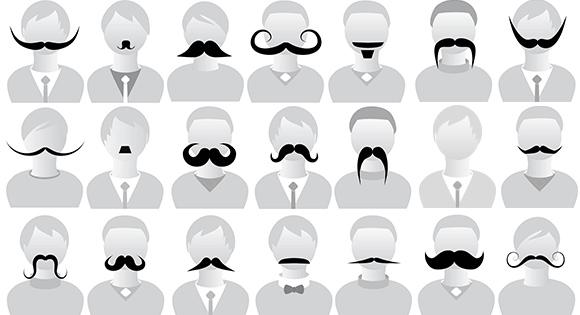 Movember : Men\'s health awareness month.