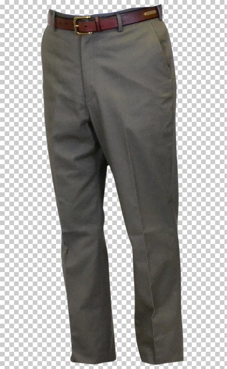 Khaki Jeans Waist, men\'s flat material PNG clipart.