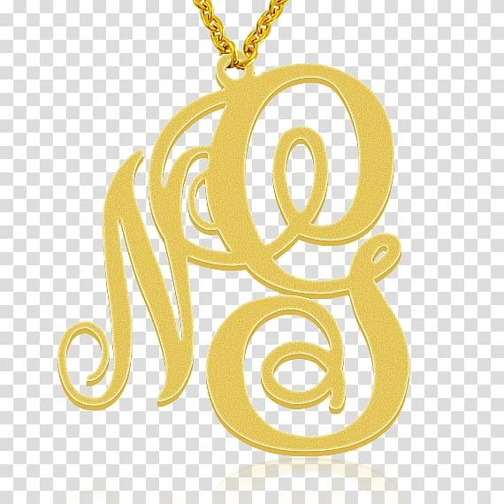 Initial Monogram Letter Surname Locket, high.
