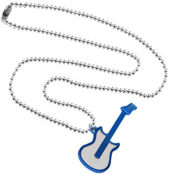 Men Style Beautiful Men\'s Jewelry Classic Style Music Guitar.