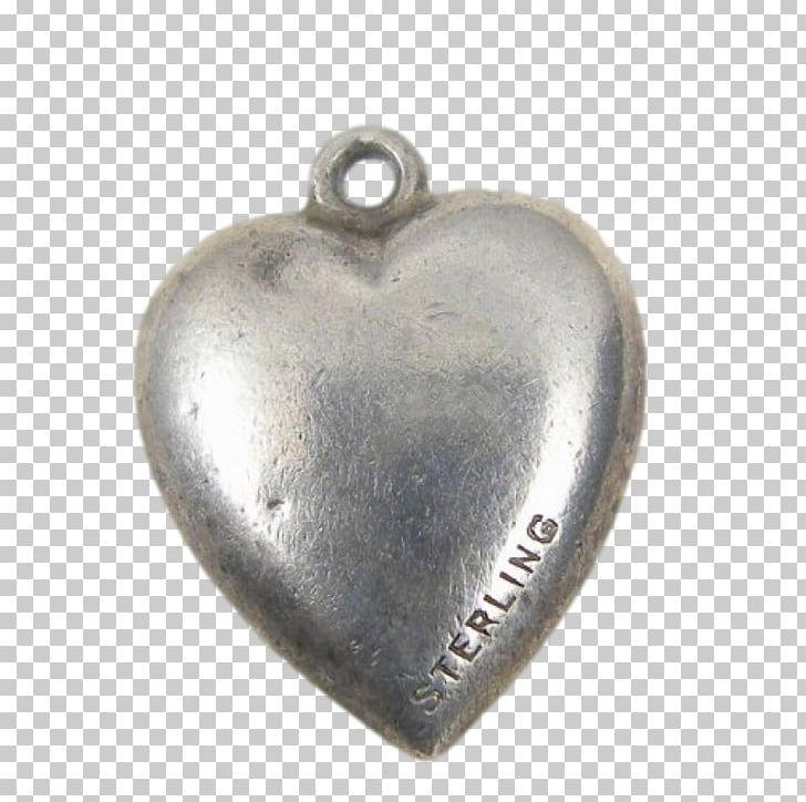 Locket Silver Heart M.