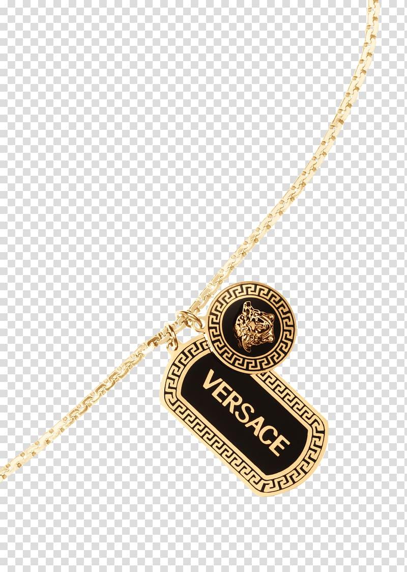Locket Necklace Versace Men Chain, necklace transparent.