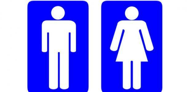 Mens Room Signs.