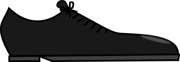 Men's Shoes Clipart.
