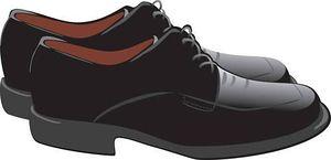Clipart of mens dress shoe.