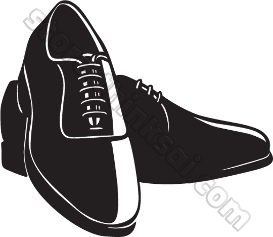 Mens Dress Shoes Clipart Black And White Clipground