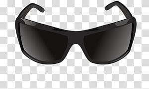 Sunglasses Vecteur, Men\\\'s sunglasses transparent background.
