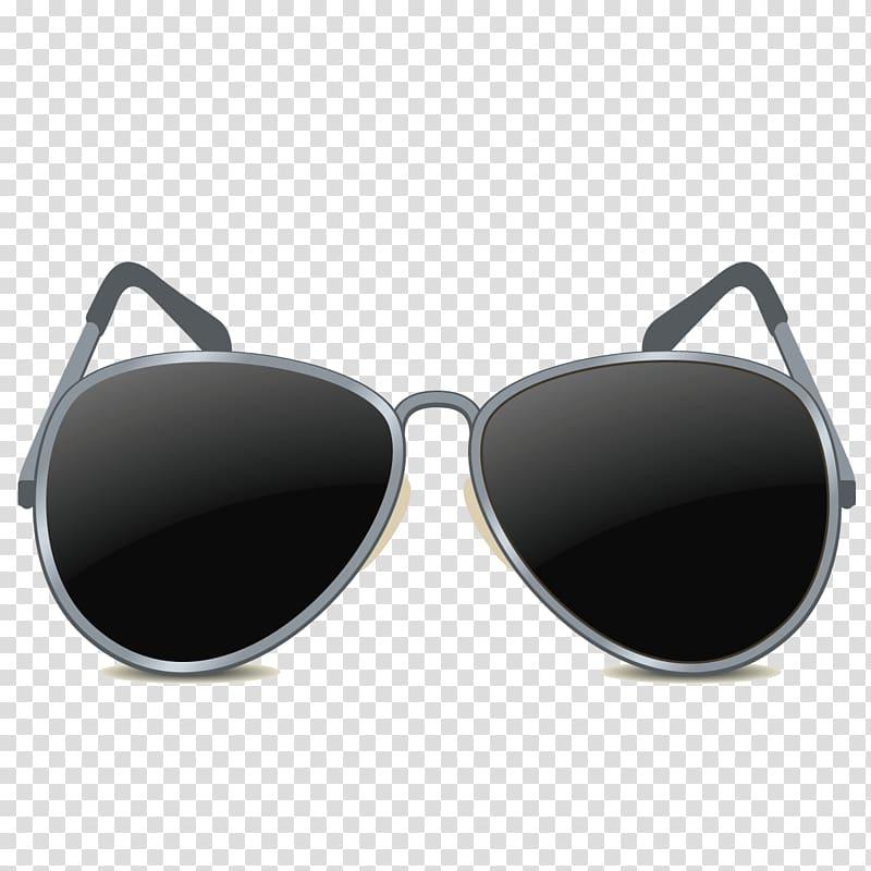Sunglasses Computer file, Men\\\'s sunglasses transparent.