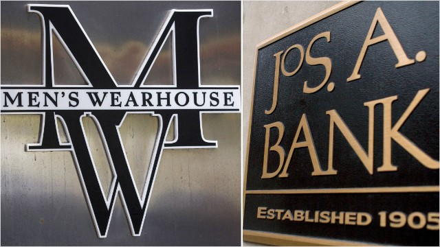 Men\'s Wearhouse to buy Jos. A. Bank for $1.8 billion.