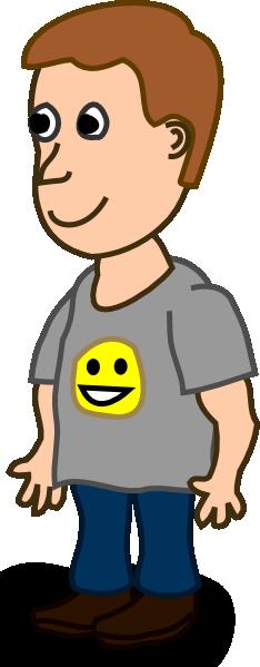 Comic Characters Boy Clip Art at Clker.com.