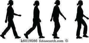 Walking Clipart Vector Graphics. 44,554 walking EPS clip art.
