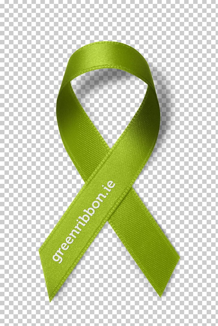 Green Ribbon Mental Health Awareness Ribbon PNG, Clipart.