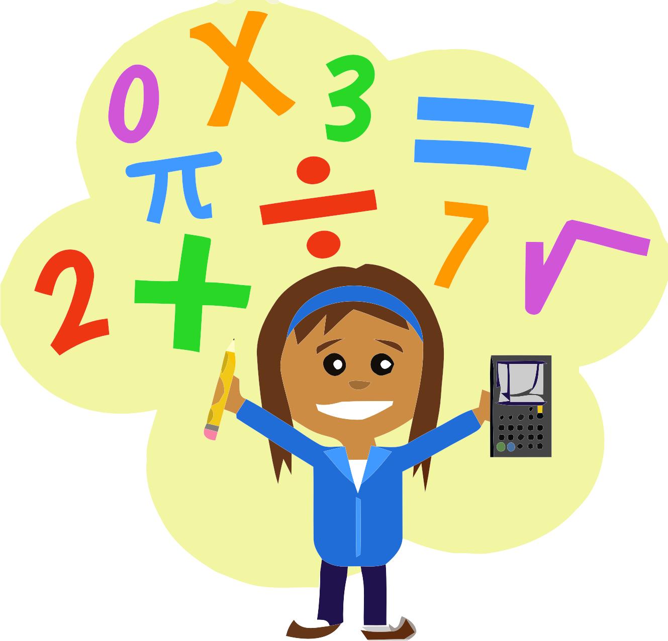 Math clipart mental math, Math mental math Transparent FREE.