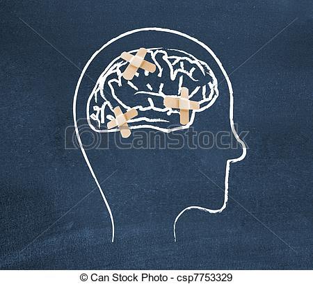 Stock Photographs of Mentally ill csp7753329.