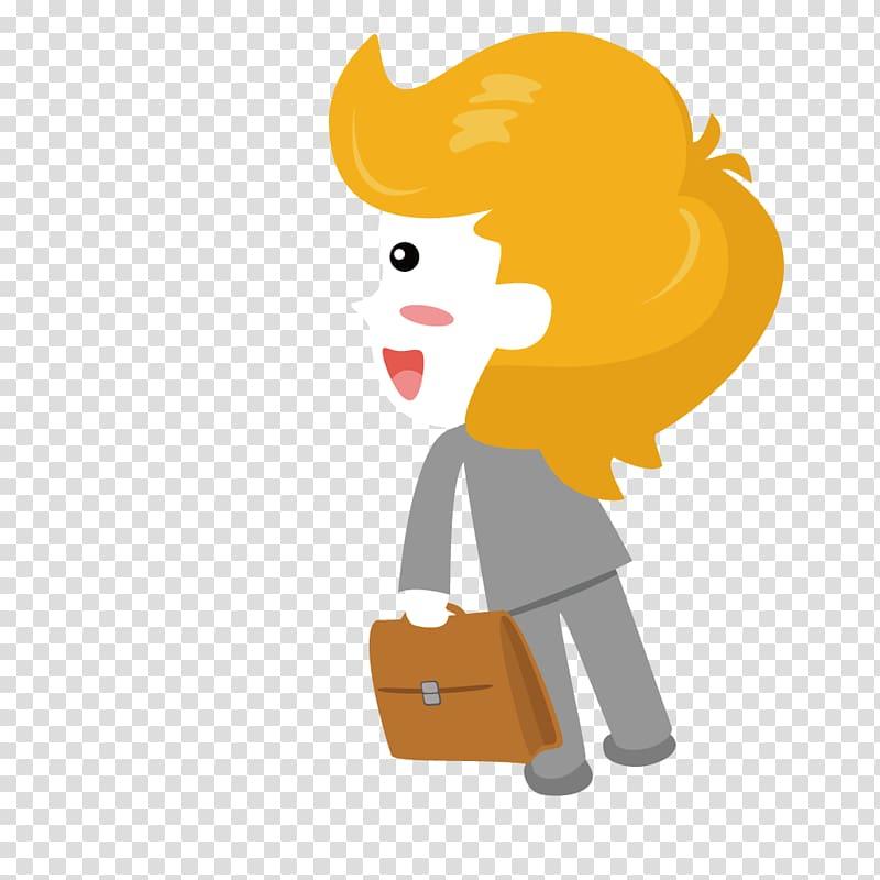 Briefcase , Mention portable briefcase woman transparent.