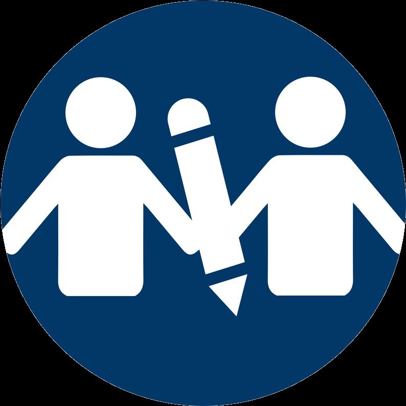 Peer Mentors Icon Clipart.