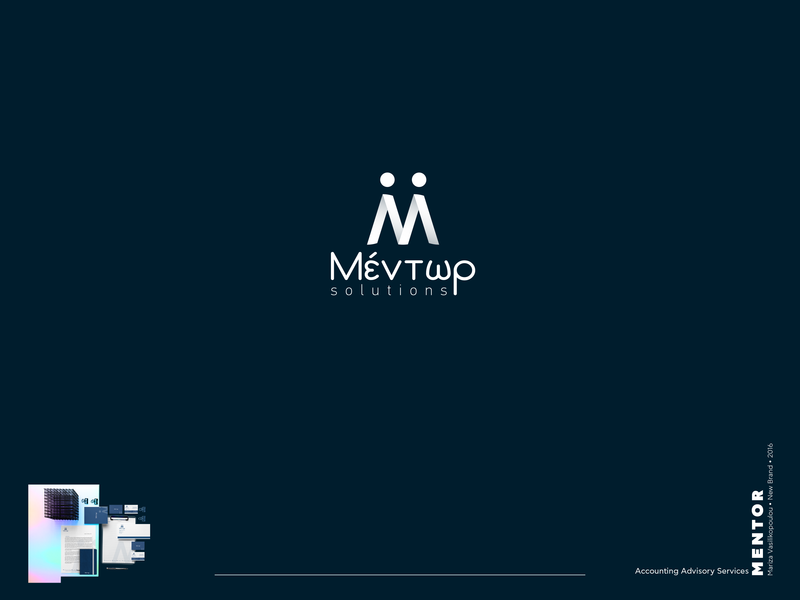 Mentor Logo by Mariza Vasilikopoulou on Dribbble.