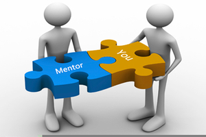Mentor Cartoon Clipart.