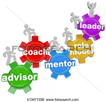 Stock Illustration of Mentoring background concept k6203679.