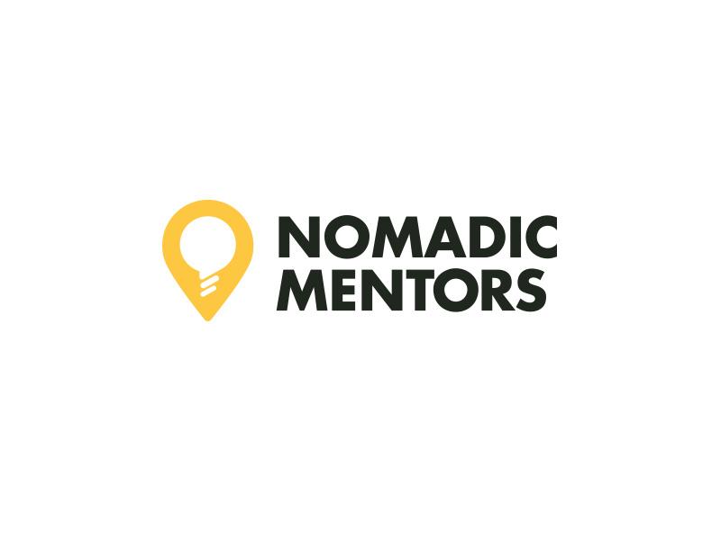 Nomadic Mentors Logo by Emrah Kara on Dribbble.