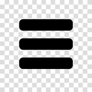Menu Bar transparent background PNG cliparts free download.