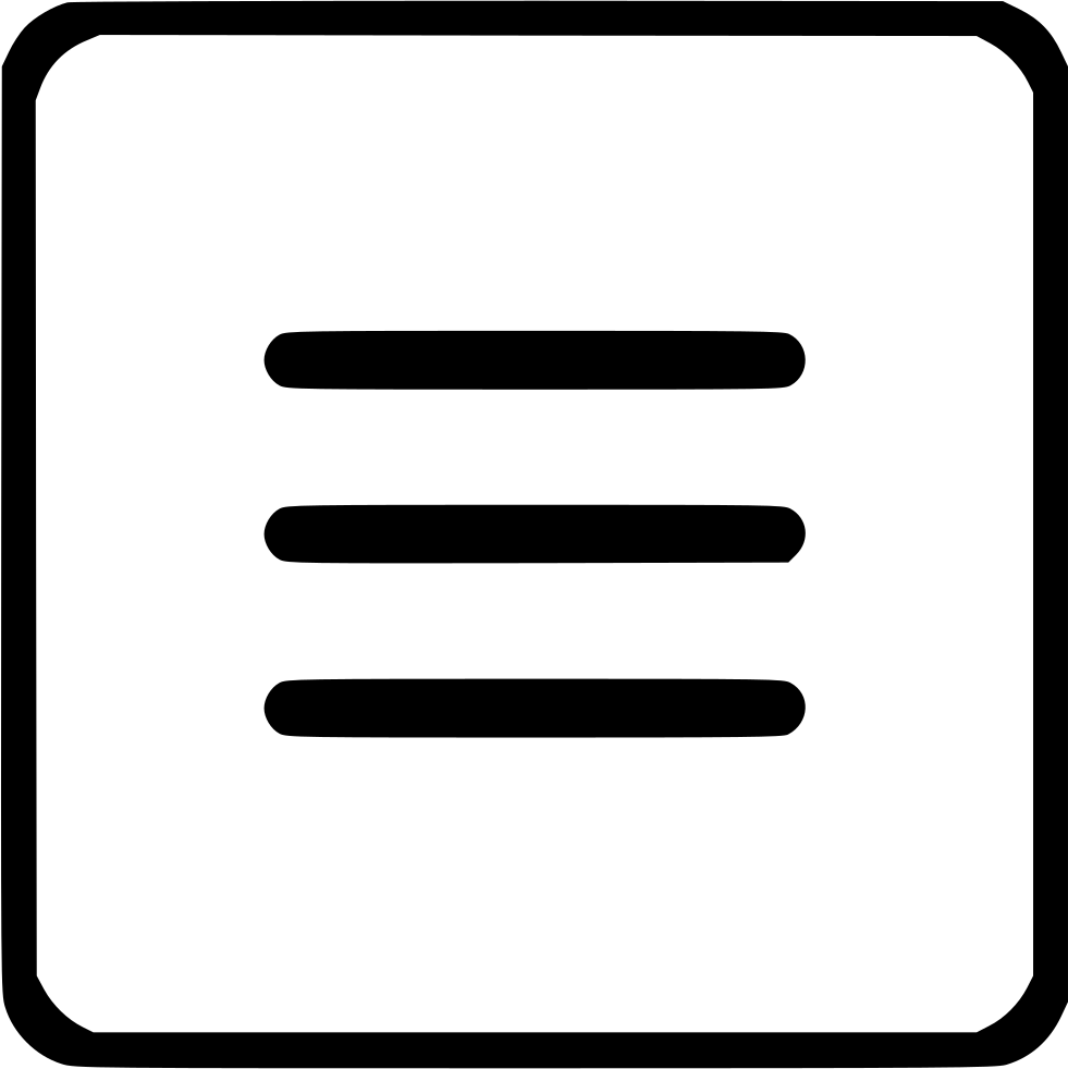 Menu Bar List Svg Png Icon Free Download (#515511.