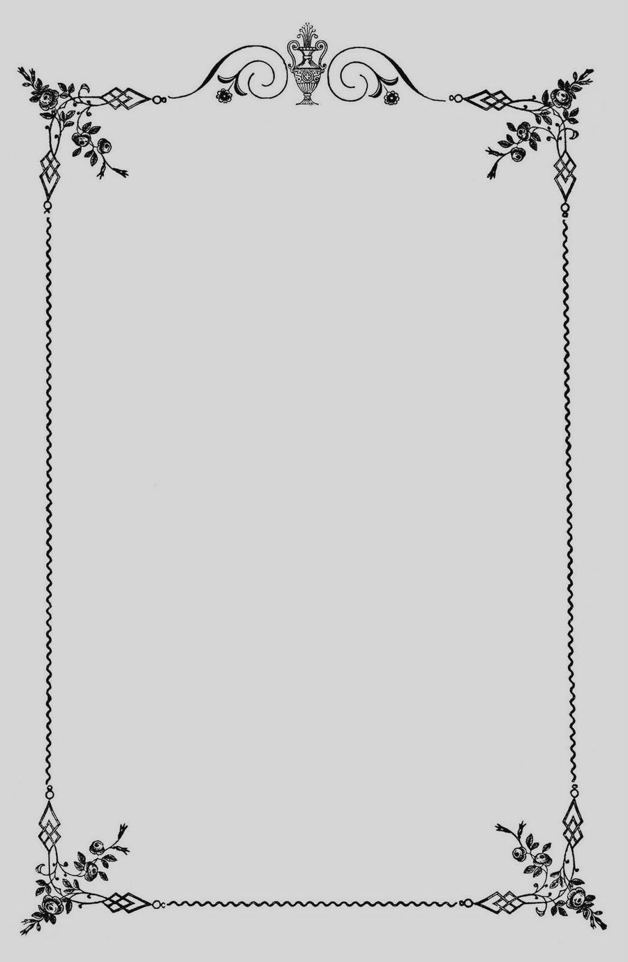 Download menu border clipart Borders and Frames Decorative.