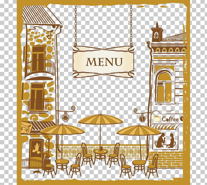 Cafe Menu Cartoon Restaurant PNG, Clipart, Cover Design.