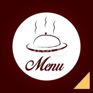 menu design Clipart Image.