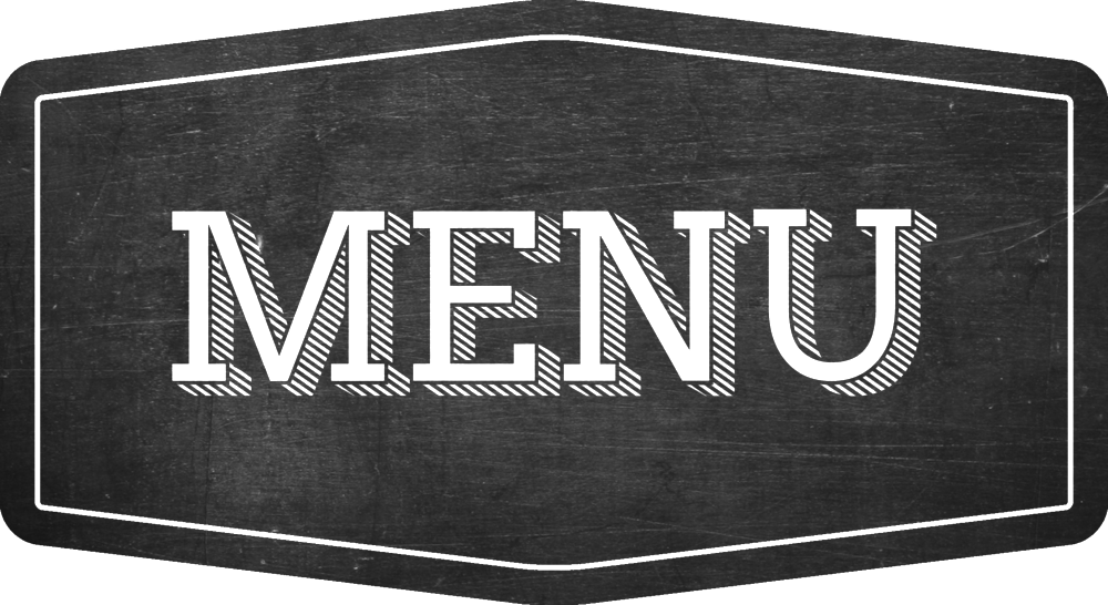 Menu png clipart images gallery for free download.