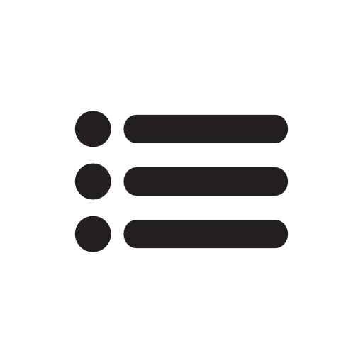 Menu Icon Free of Internet and web flat icons free.