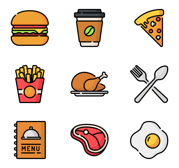 106 menu icon packs.