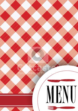 Menu Card Design stock vector.