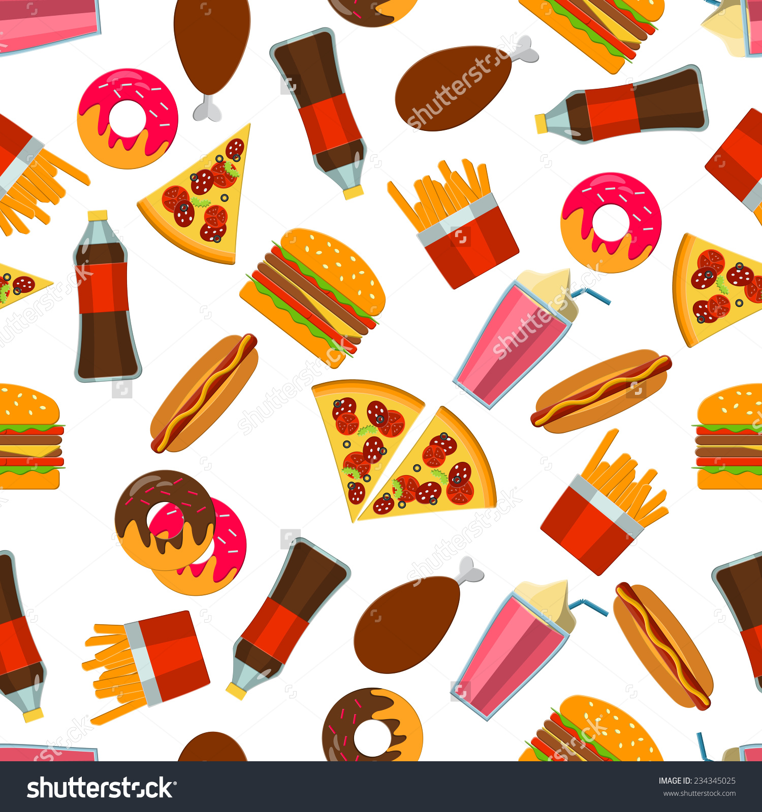 Food Clipart Background.
