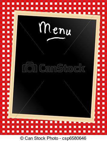 Clip Art Menu Board Clipart.
