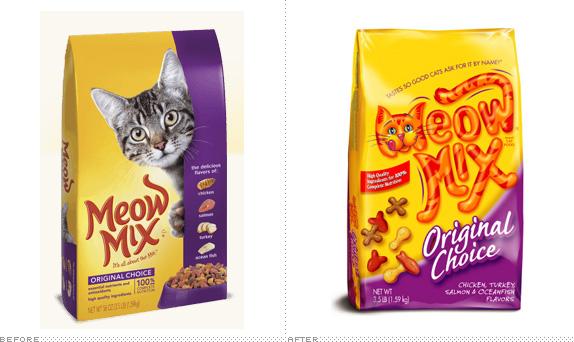 Brand New: Meow Mix.