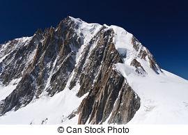 Stock Photo of Mont Blanc.
