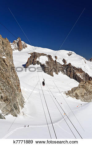 Stock Photograph of Mont Blanc.