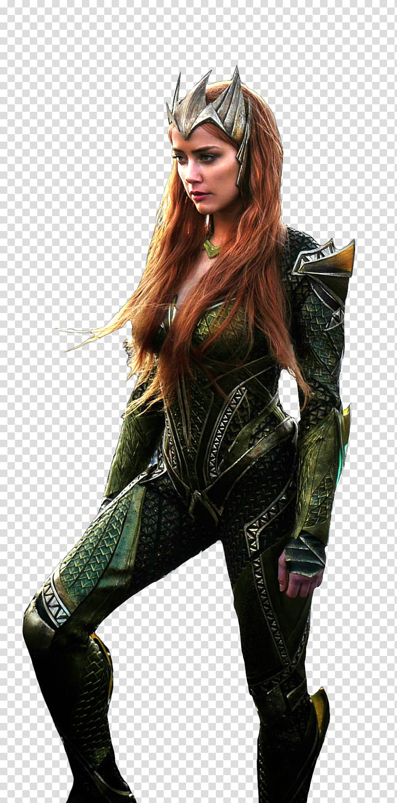 Amber Heard as Mera Justice League transparent background.