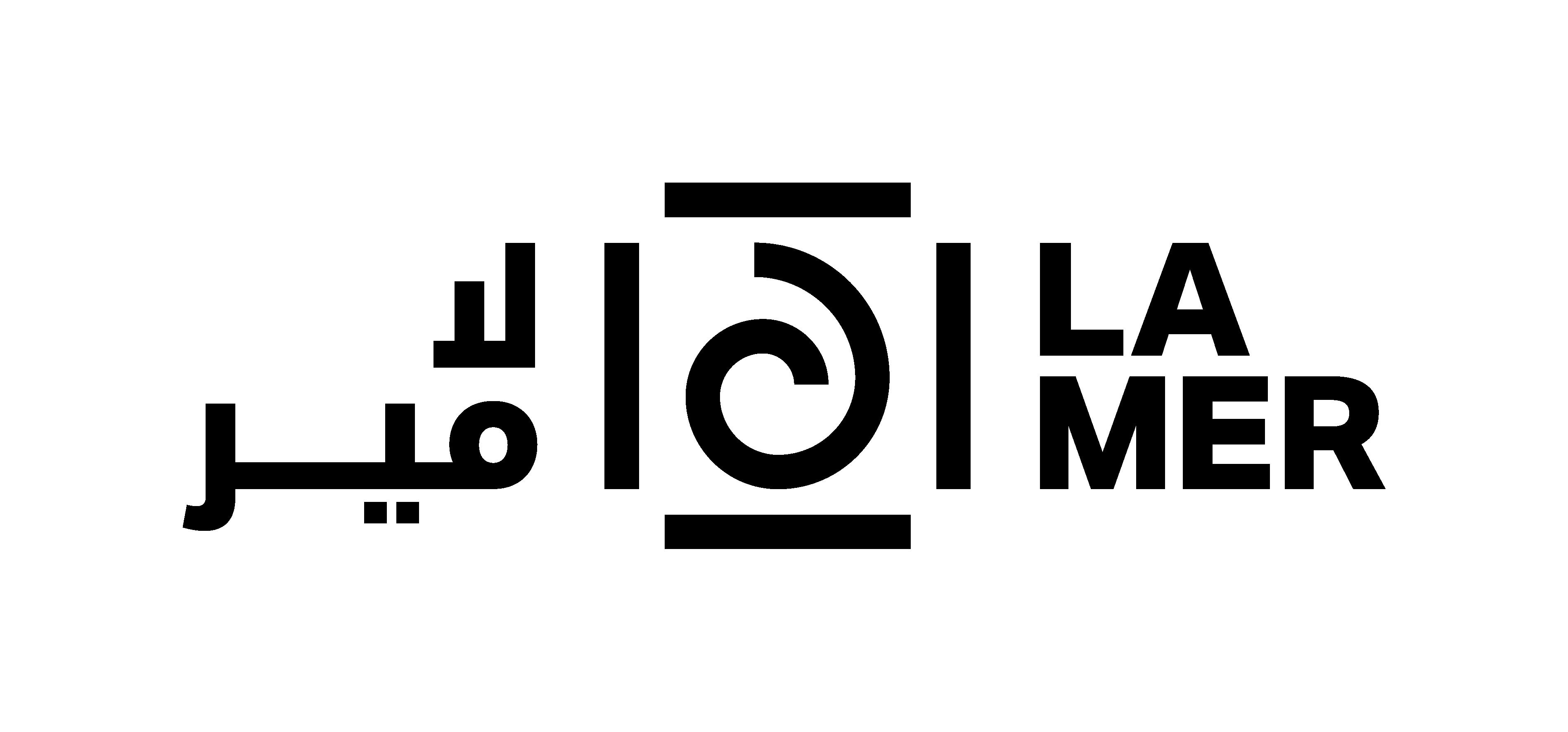 La Mer logo by meraas dubai.