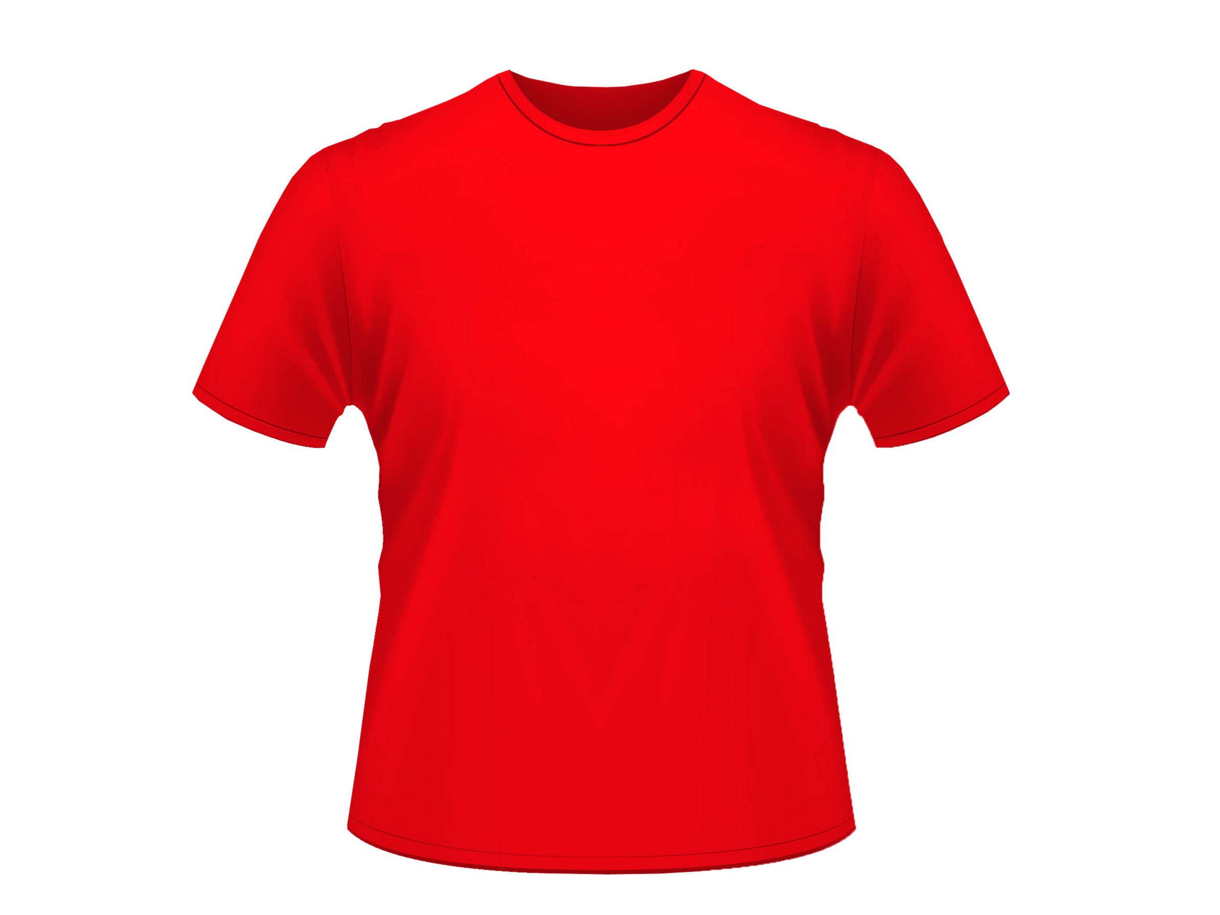 Baju Polos Merah.