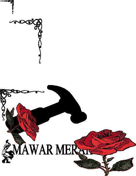 Mawar Merah Clip Art at Clker.com.