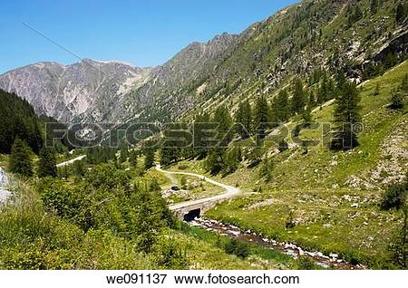 Picture of Parc National du Mercantour in the Alpes Maritimes.