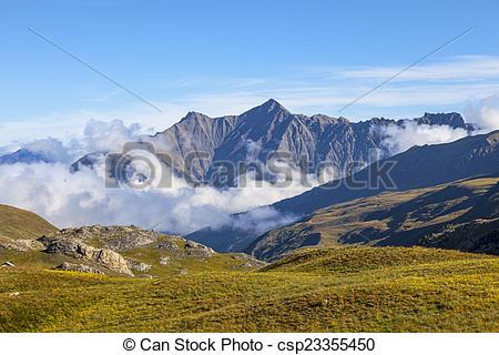 Stock Images of Parc National du Mercantour.