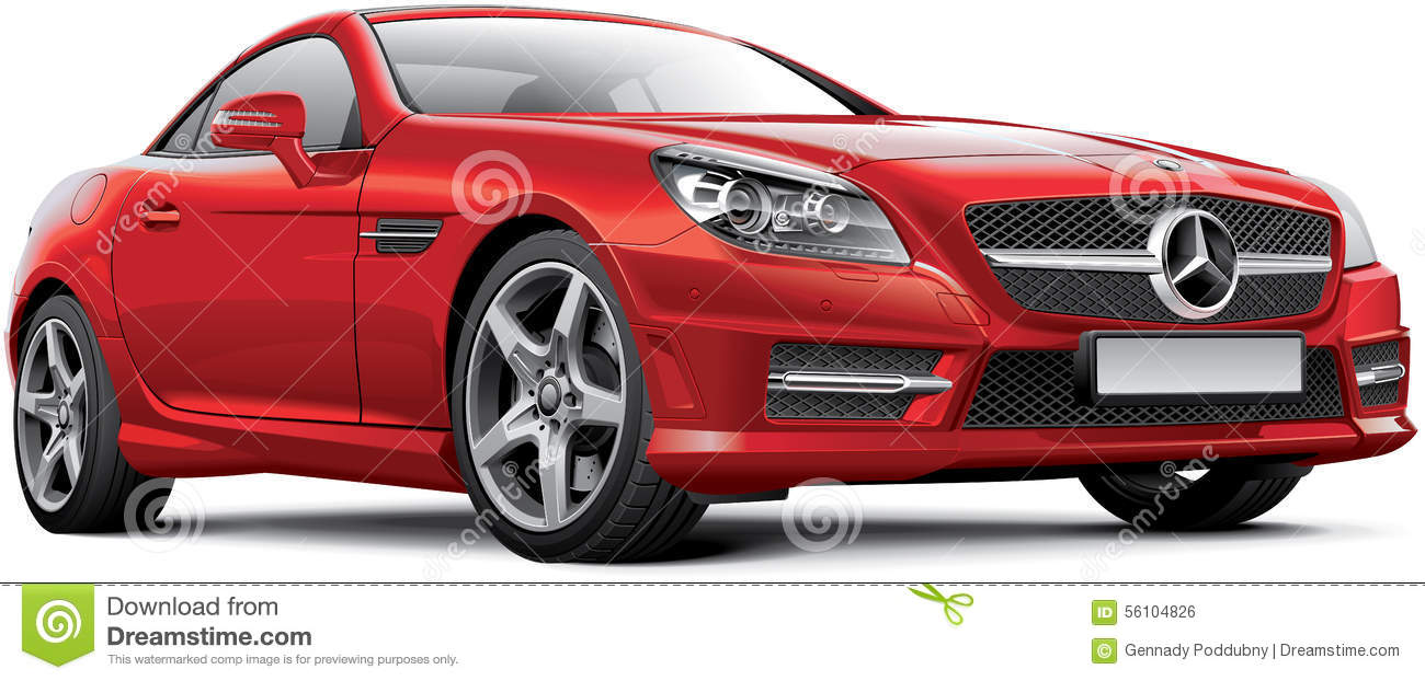 Mercedes Benz Stock Illustrations.