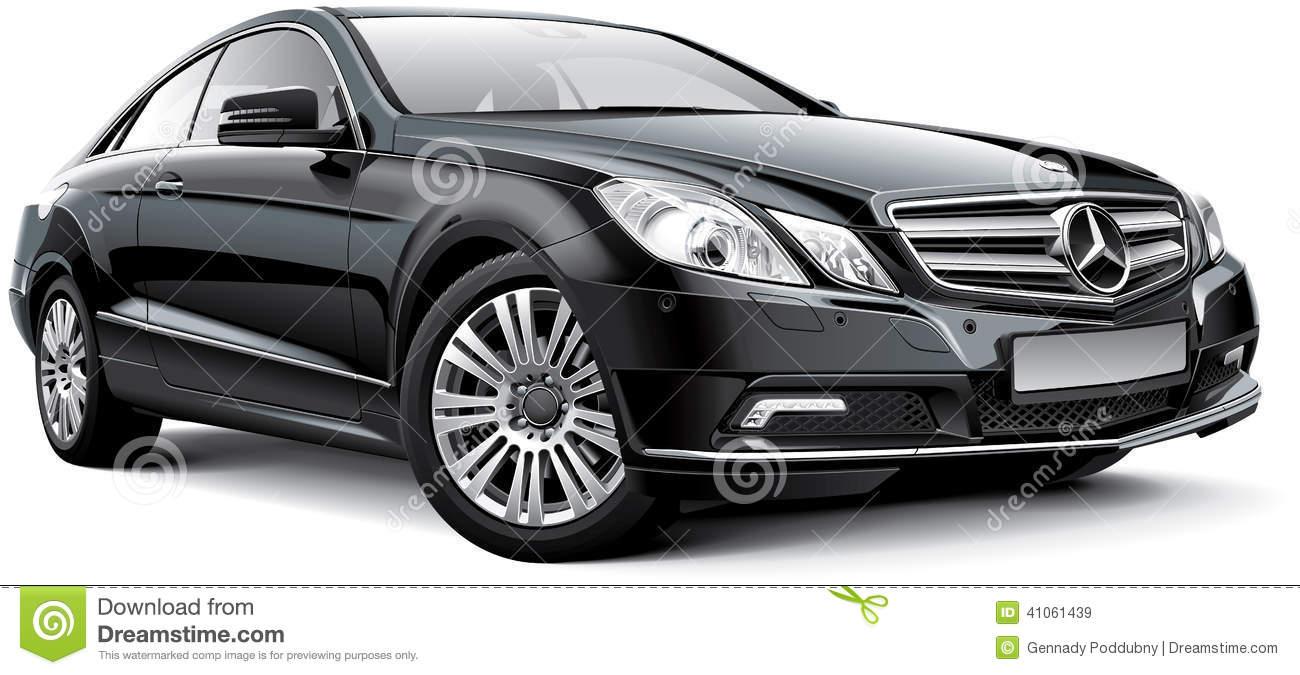 Mercedes c class clipart.