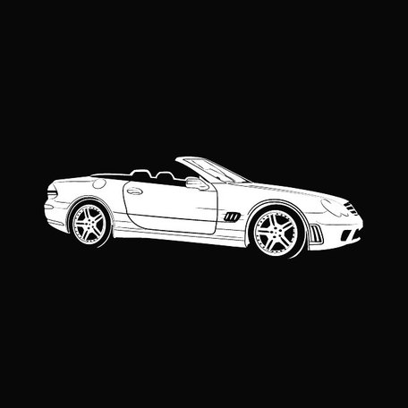 MERCEDES BENZ CAR FREE VECTOR.eps, Vector Images.